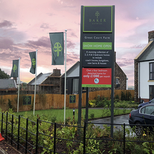Enigma Signage Property & New Homes